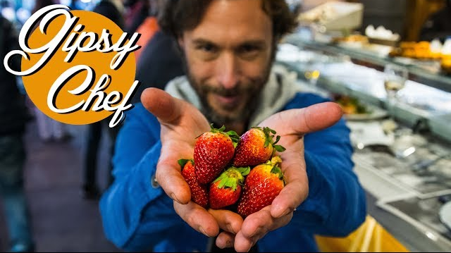 Receta sencilla de fresas glaseadas con Gipsy Chef