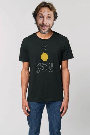 Camiseta Lemon negra